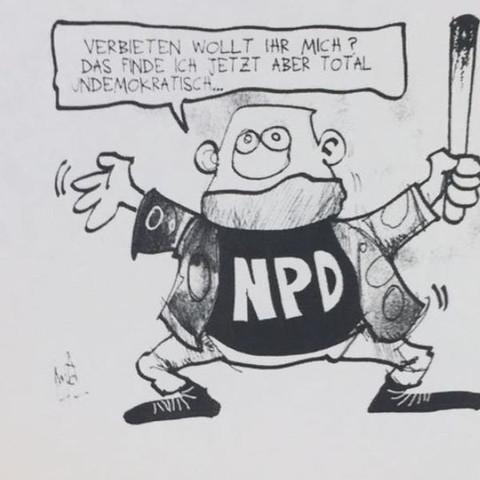 Karikatur  - (Politik, Aktuell Karikatur)