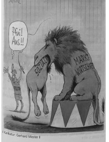 - (Marktwirtschaft, Karikaturanalyse, Sozialkundeunterricht)