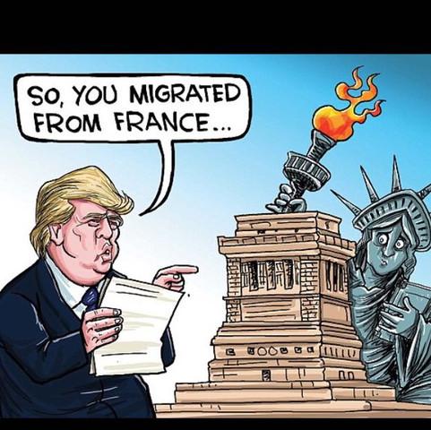 Dieses Bild  - (Politik, Amerika, Cartoon)