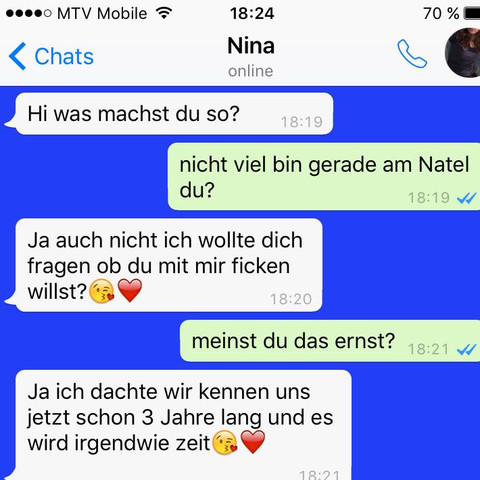 Chat verlauf - (Sex, WhatsApp, Chat)