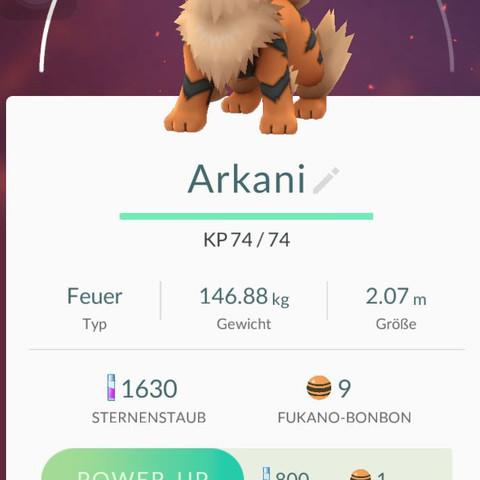Arkani wp - (Handy, Spiele, Pokemon)