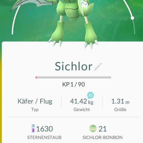 Sichlor wp - (Handy, Spiele, Pokemon)