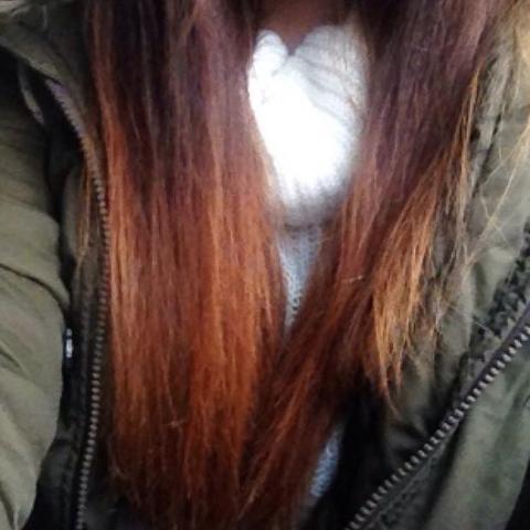 Hier sieht man nochmal mein 'ombré' :)  - (Haare, Beauty, Farbe)