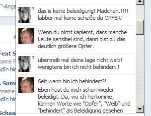 Screenshot 1   (Schule, Facebook, Sprüche)