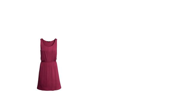 casual jerseykleid + verspielter beiger cardigan - (Mädchen, Freunde, Kleidung)
