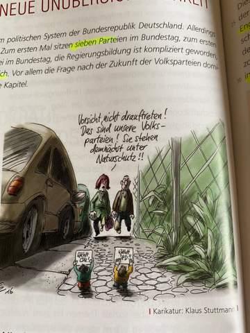 Was soll uns diese Karikatur von Klaus Stuttmann sage?