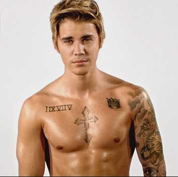 Was sollen die römischen Ziffern bei Justin Bieber bedeuten?