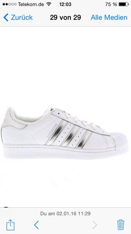 Silber - (adidas, Sneaker)