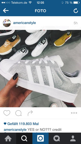Glitzer - (adidas, Sneaker)