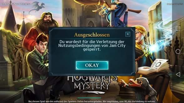 Was Stimmt Nicht Mit Hogwarts Mystery Harry Potter