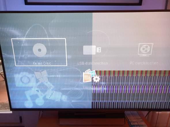 Was tun bei Bildfehler beim Philips Ambilight 55PUS8303/12 TV?