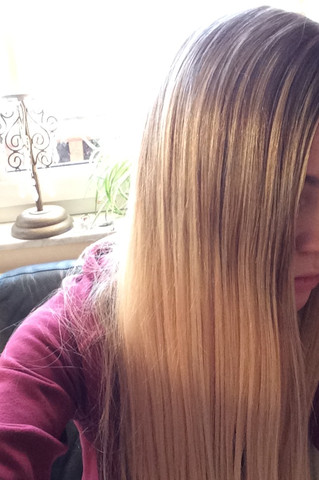 Meine Haare  - (Haarfarbe, Ansatz)