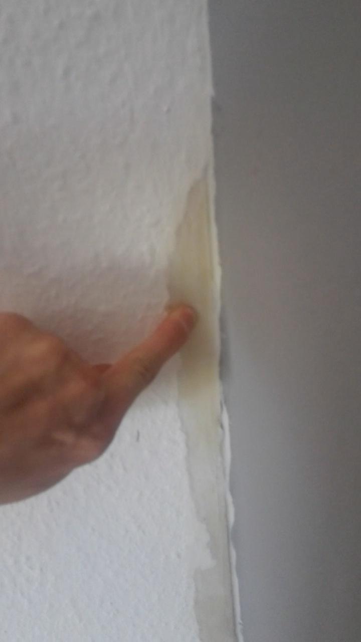 was tun bei einer weichen wand unter der tapete? (bau, mauer)