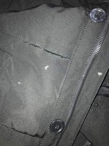 Was tun gegen brandfleck auf der Jacke?