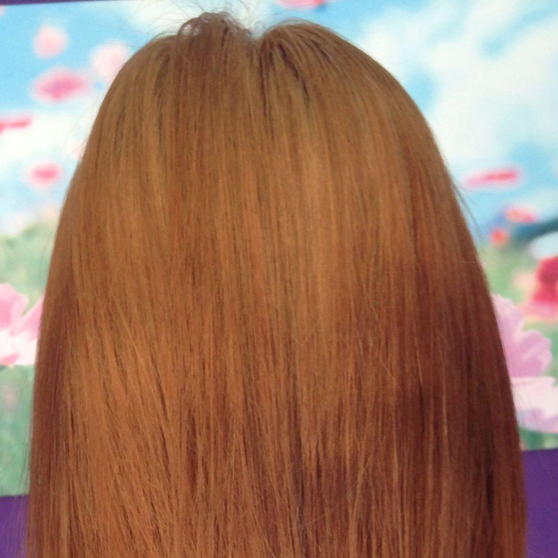 Orange haare neutralisieren