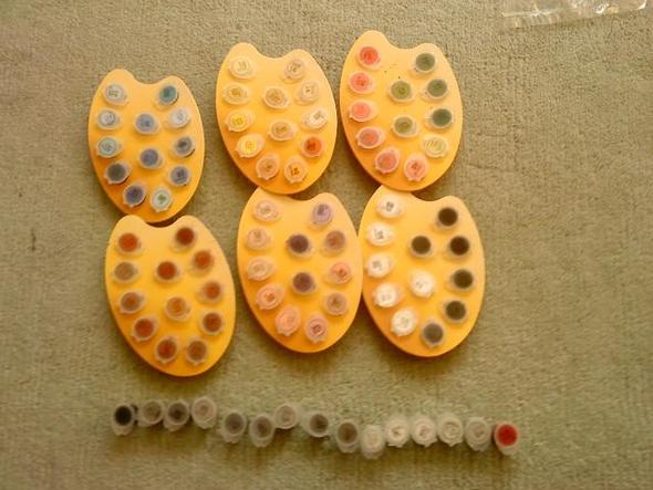 Farbdöschen - (Farbe, malen-nach-zahlen)