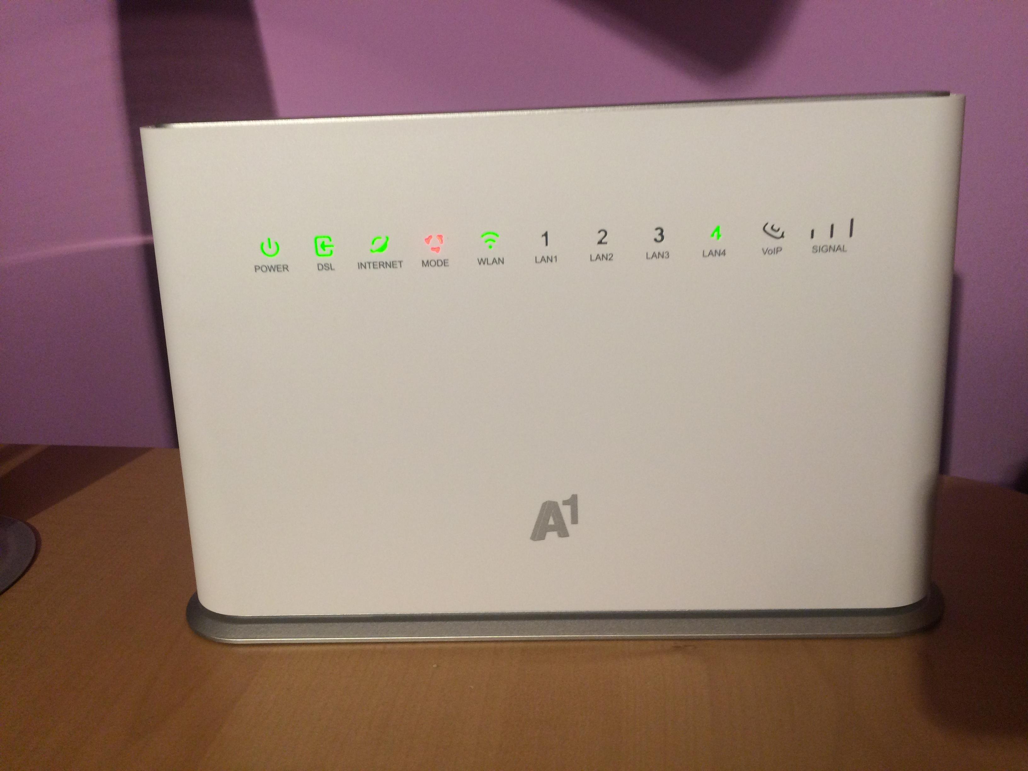 was tun wenn bei meinem a1 wlan router keine lte verbindung ...