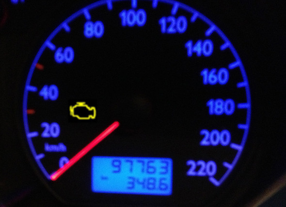 MKL - (Auto, motorkontrollleuchte, VW Polo 9N)