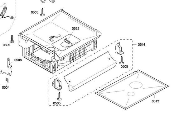 Was Und Wo Genau Ist Die Bodenwanne Meines Bosch Geschirrspuler Sgs