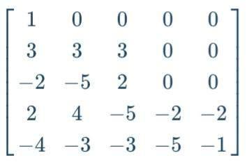 Was wäre die Determinante dieser riesigen Matrix?