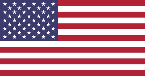 USA Flagge - (USA, Amerika, Welt)