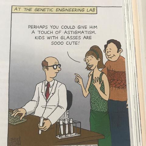 Was will der Cartoonist damit sagen?