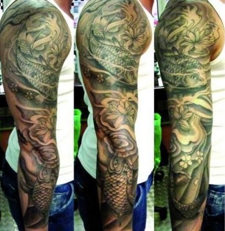 So stell ich mir den Koi vor - (Tattoo, Tattoo Kosten, Tätowierer gesucht)