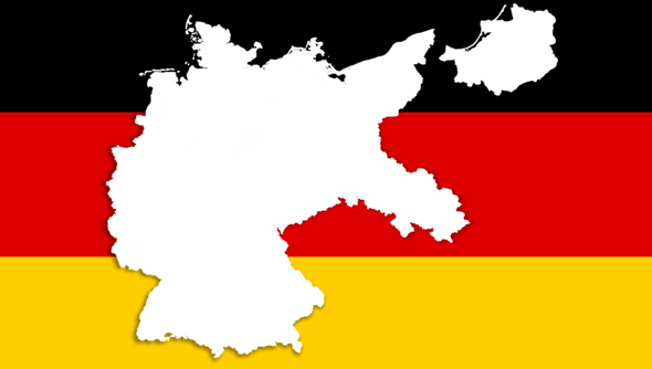 What would you think of it when Germany was still as looking like in the picture