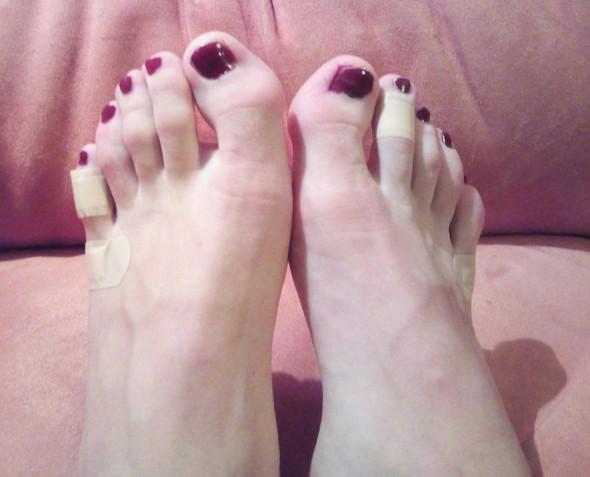 So sieht es aus... - (High-Heels, Fuß Zehen)