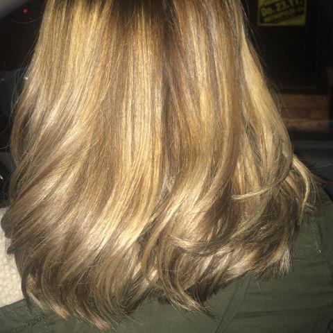 hier mit blitz - (Hair, color)