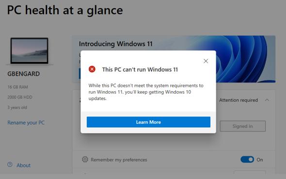 Was würdet ihr tun wenn ihr nicht auf Windows 11 upgraden könnt?