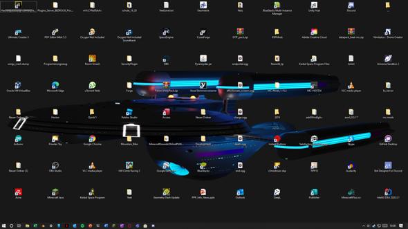Was zur Hölle ist mit meinem Desktop passiert?