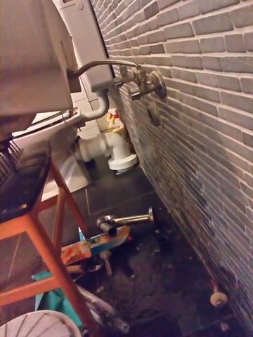 Waschbecken - (Waschbecken, Rohrbruch)