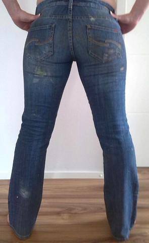 jeans - (waschen, Jeans, renovieren)