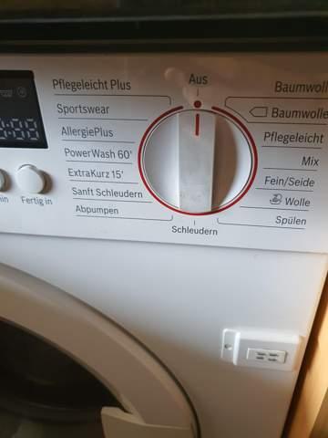 - (Haushalt, Waschmaschine, waschen)