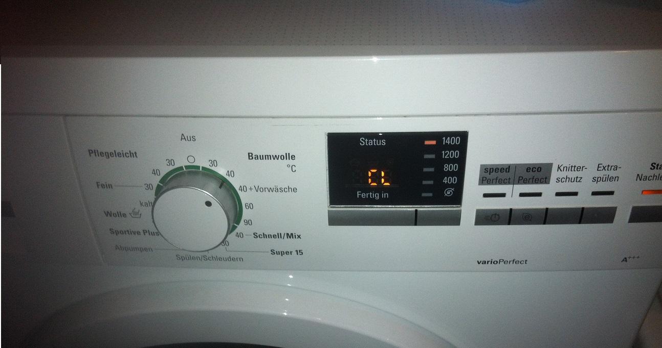 Waschmaschine funktioniert nicht fehlermeldung cl
