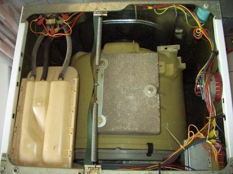 Hoover geöffnet - (Waschmaschine, Pumpe, abpumpen)