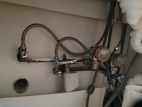 Anschlüsse 1 - (Küche, Waschmaschine, waschen)