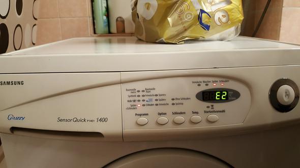 waschmaschine l uft nicht weiter und meldet einen fehler. Black Bedroom Furniture Sets. Home Design Ideas