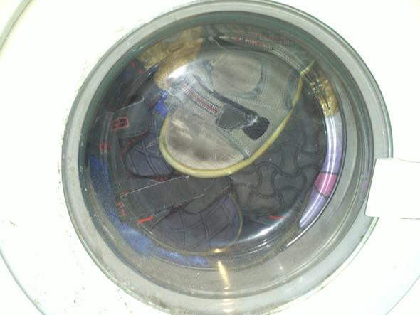 Waschmaschine macht schlapp? kinder schaden wackeln