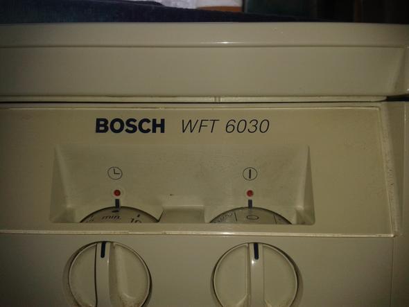 die typ Beschreibung  - (Technik, Waschmaschine)