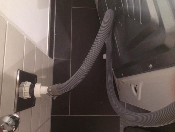 Waschmaschinen Abfluss Richtig Angeschlossen Winkeltülle