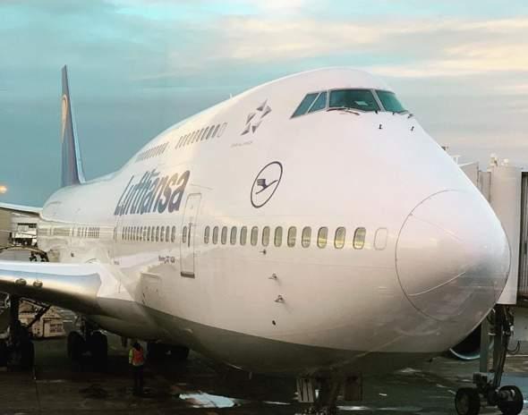 Was ist dass an der Nase des Jumbo Jet?