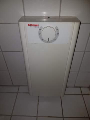 Wasser aus dem Durchlauferhitzer?