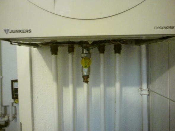 Wasser nachfüllen Junkers ZWN 18-6 KE 23