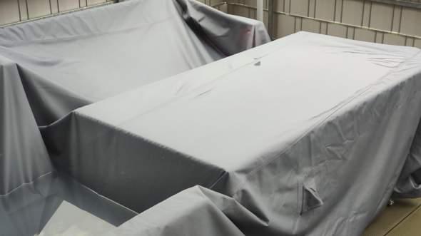 Wasser sammelt sich auf der Schutzhülle unserer Lounge-Möbel! Was kann man dagegen tun?