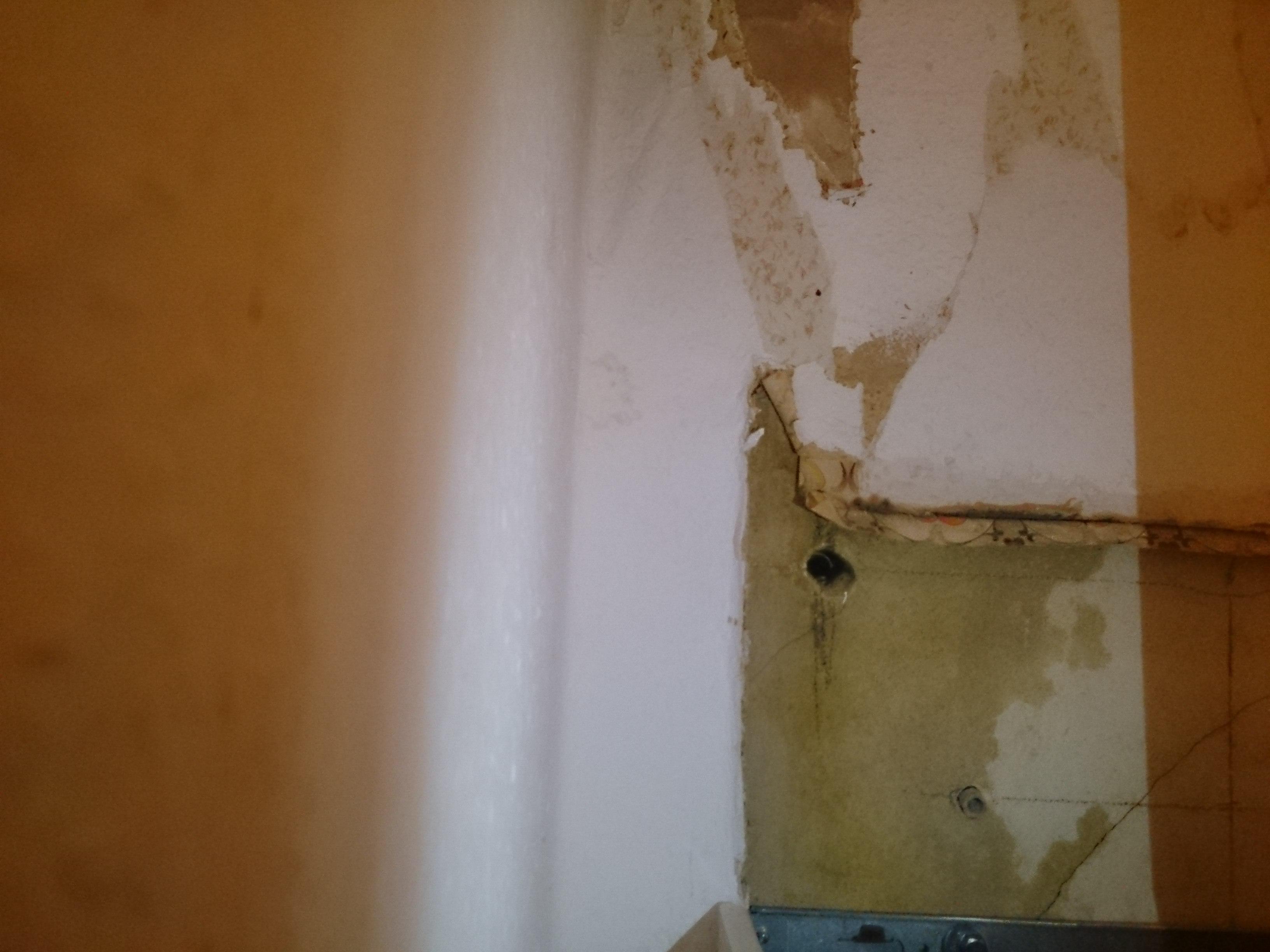 wasser schaden nach umbau von fach firma wohnung schimmel wasserschaden. Black Bedroom Furniture Sets. Home Design Ideas