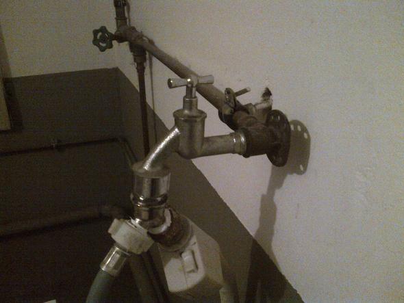 wassernaschluss ~ Wasserhahn Waschmaschine Wechseln