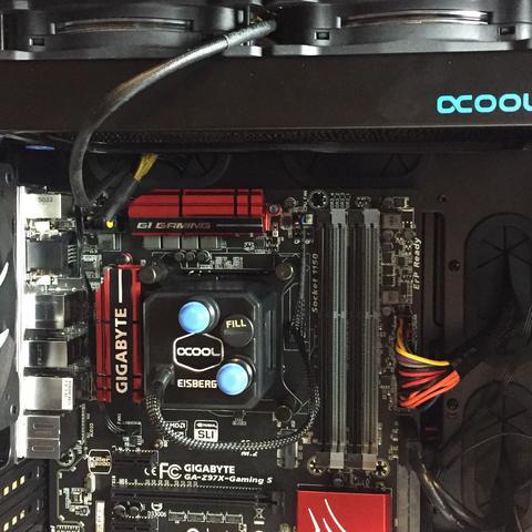 hier der block und radiator - (PC, cpu, wasserkühlung)