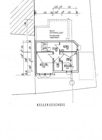 Kellerplan - (Haus, Keller, Grundwasser)